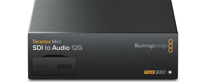 Teranex Mini SDI to Audio 12G