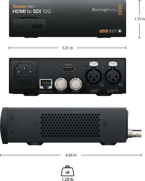 Teranex Mini HDMI to SDI 12G