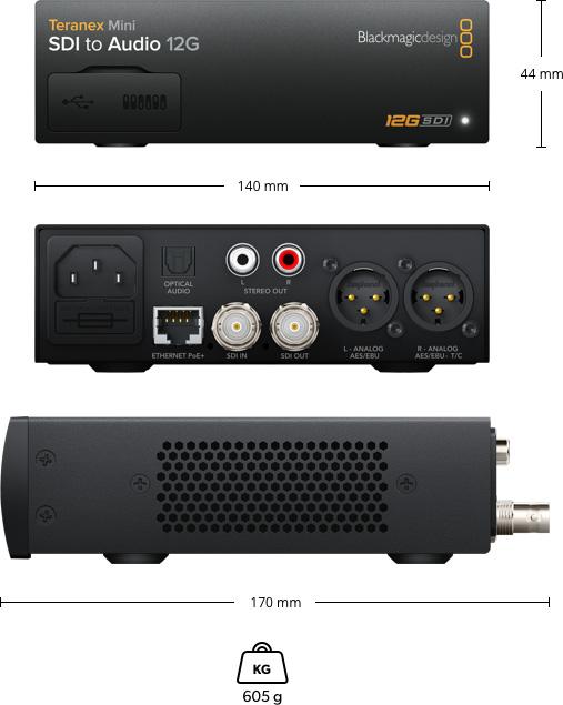 Teranex Mini - SDI to Audio 12G