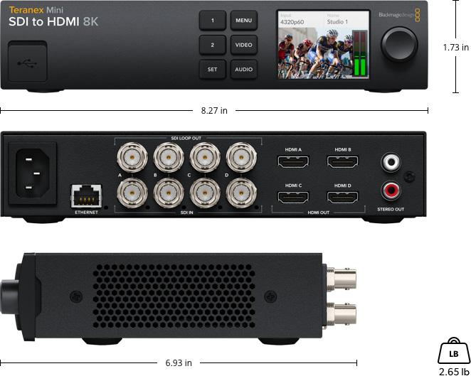 Teranex Mini SDI to HDMI 8K HDR