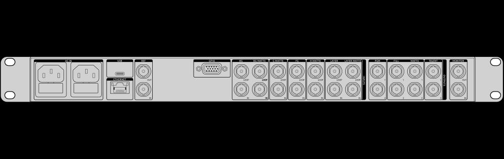 Ultimatte – Tech Specs | Blackmagic Design