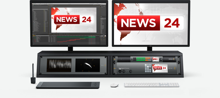 Compatible with leading Broadcast design tools