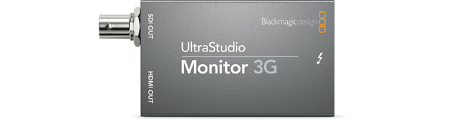 UltraStudio Monitor 3G